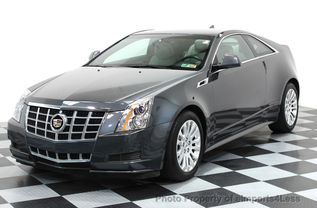 Used Cadillac Cts Coupe >> 2012 Used Cadillac Cts Coupe Certified Cts 3 6 Awd Coupe At