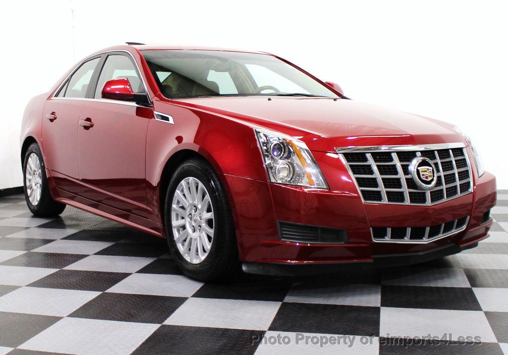 2012 Used Cadillac Cts Sedan 4dr Sedan 3 0l Luxury Rwd At