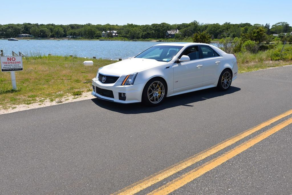 2012 Used Cadillac CTS-V Sedan 4dr Sedan at WeBe Autos Serving Long Island,  NY, IID 17736639