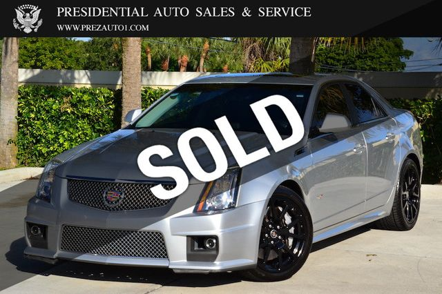 Cadillac Cts V Used >> 2012 Used Cadillac Cts V Sedan 4dr Sedan At Presidential Auto Sales Service And Leasing Serving Palm Beach Boca Raton Delray Beach Fl Iid