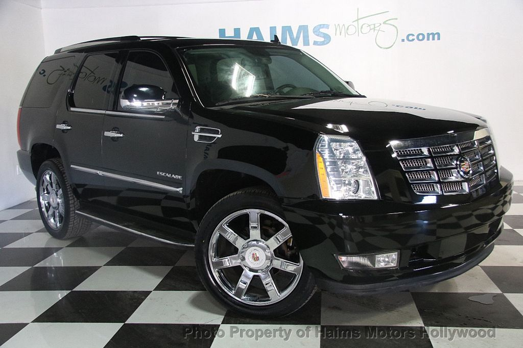 2012 used cadillac escalade 2wd 4dr luxury at haims motors ft lauderdale serving lauderdale. Black Bedroom Furniture Sets. Home Design Ideas