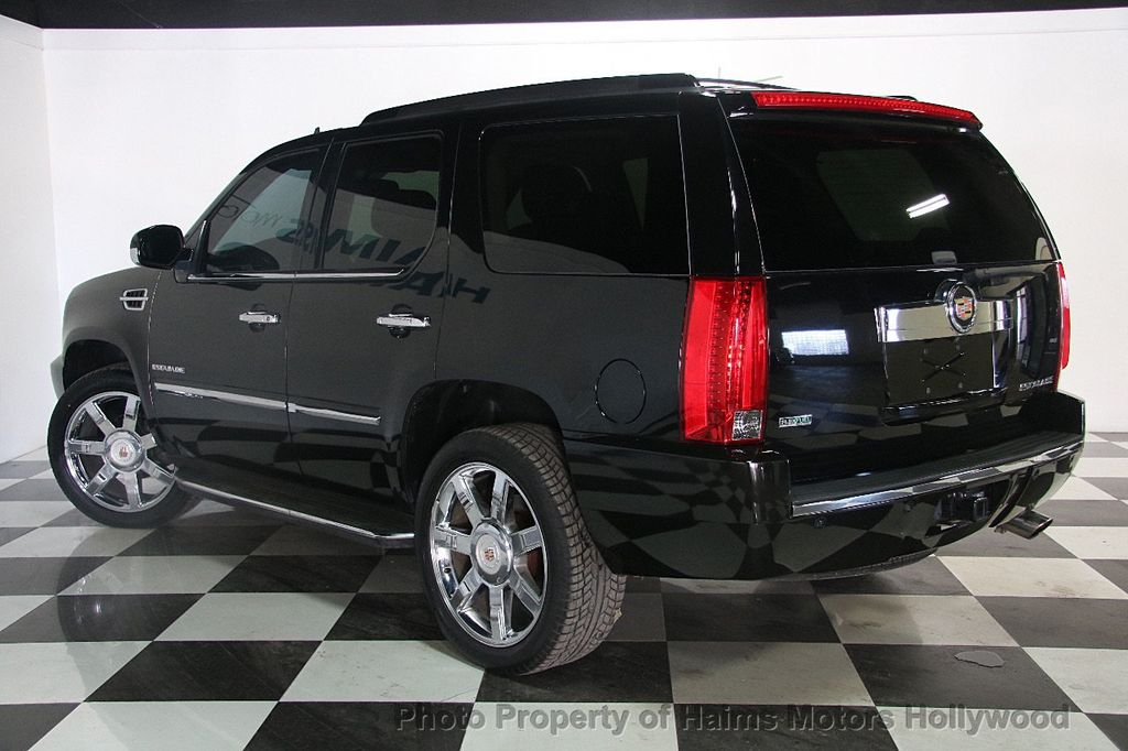 2012 used cadillac escalade 2wd 4dr luxury at haims motors serving fort lauderdale hollywood. Black Bedroom Furniture Sets. Home Design Ideas