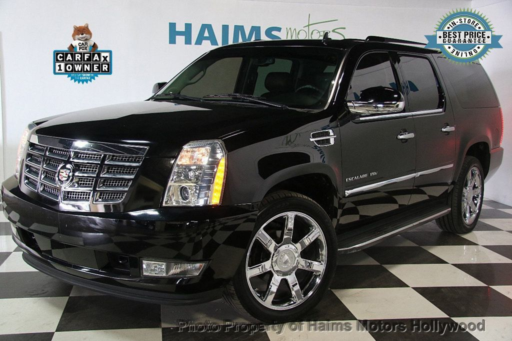 2012 Cadillac Escalade ESV 2WD 4dr - 17263774 - 0