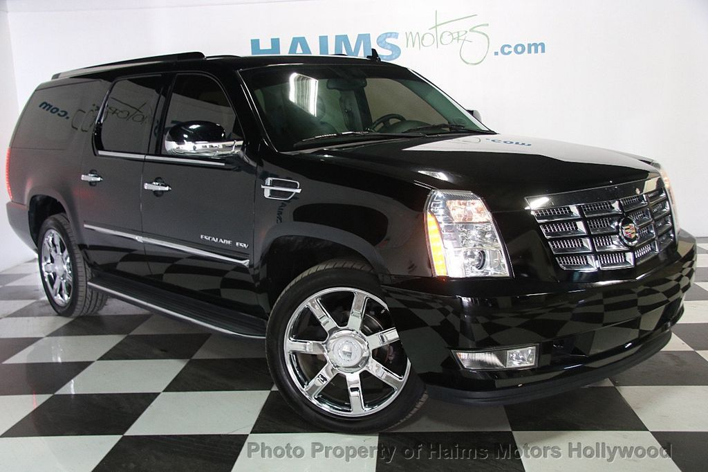 2012 used cadillac escalade esv 2wd 4dr at haims motors ft. Black Bedroom Furniture Sets. Home Design Ideas
