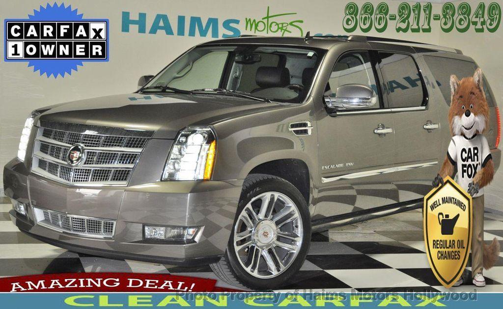 2012 Used Cadillac Escalade Esv Awd 4dr Platinum Edition