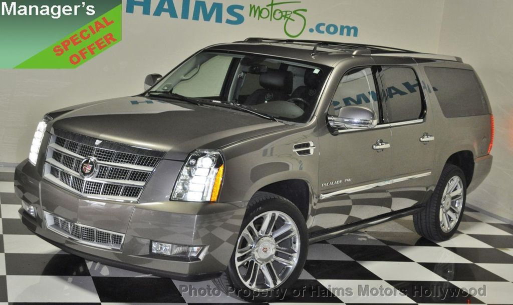 2012 used cadillac escalade esv awd 4dr platinum edition. Black Bedroom Furniture Sets. Home Design Ideas