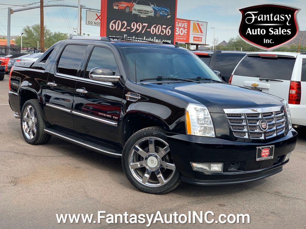 2012 Used Cadillac Escalade Ext Awd 4dr Luxury At Fantasy Auto