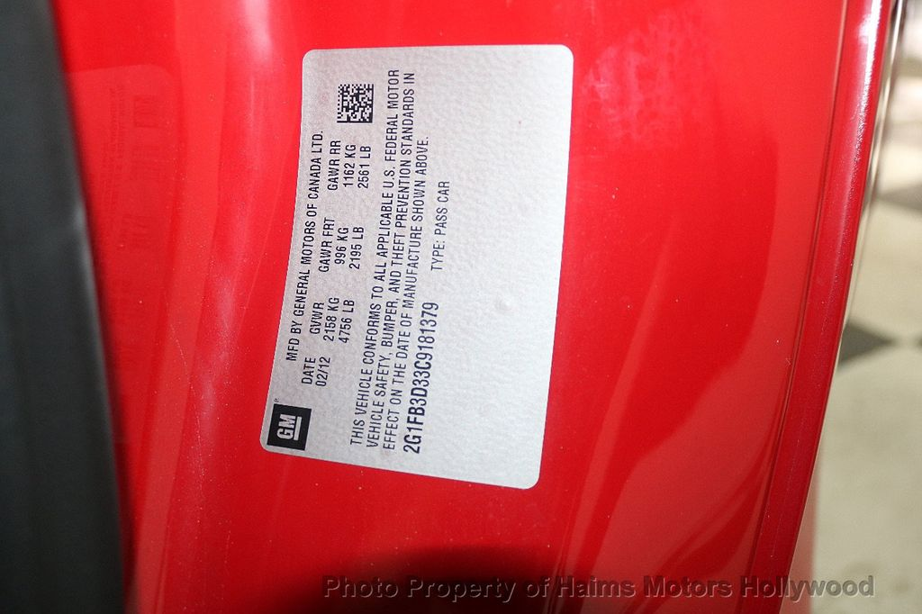 2012 Chevrolet Camaro 2dr Convertible 1LT - 17925334 - 29