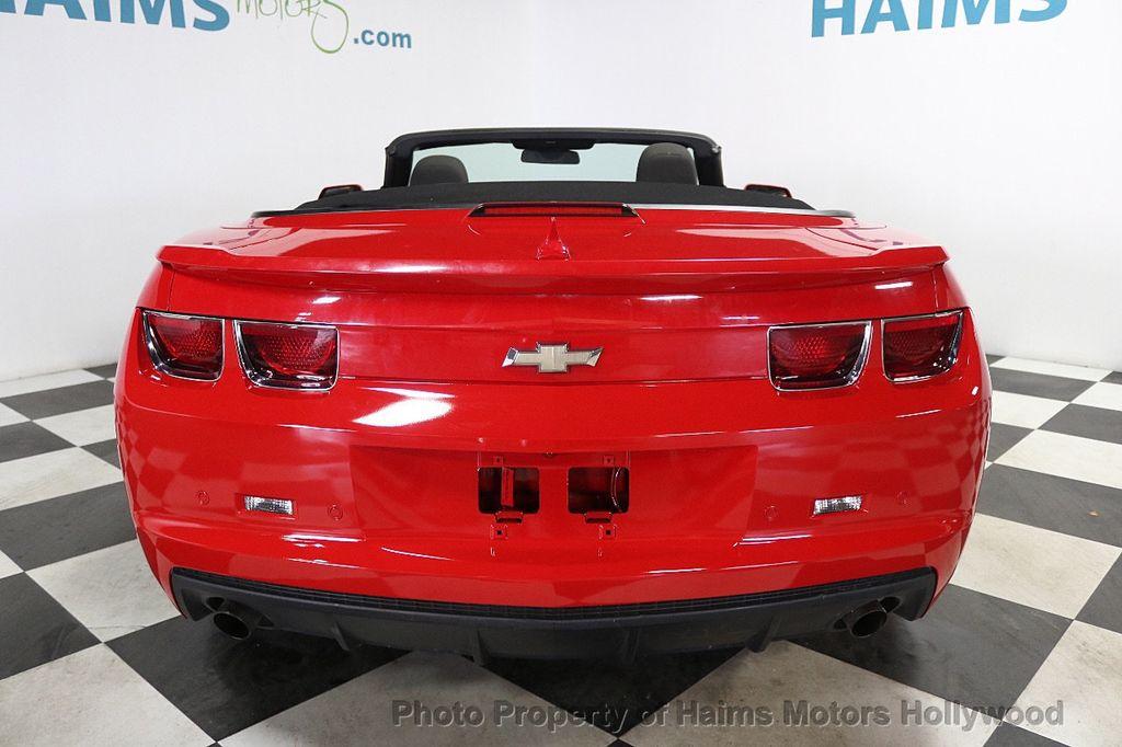 2012 Chevrolet Camaro 2dr Convertible 1LT - 17925334 - 5