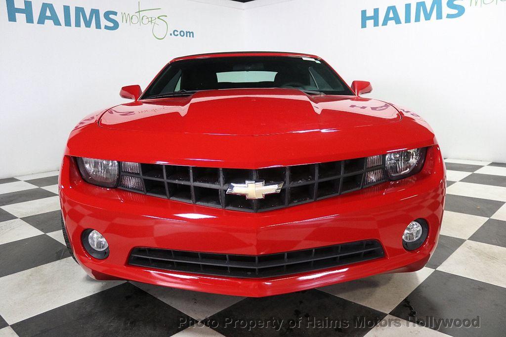 2012 Chevrolet Camaro 2dr Convertible 1LT - 17925334 - 8