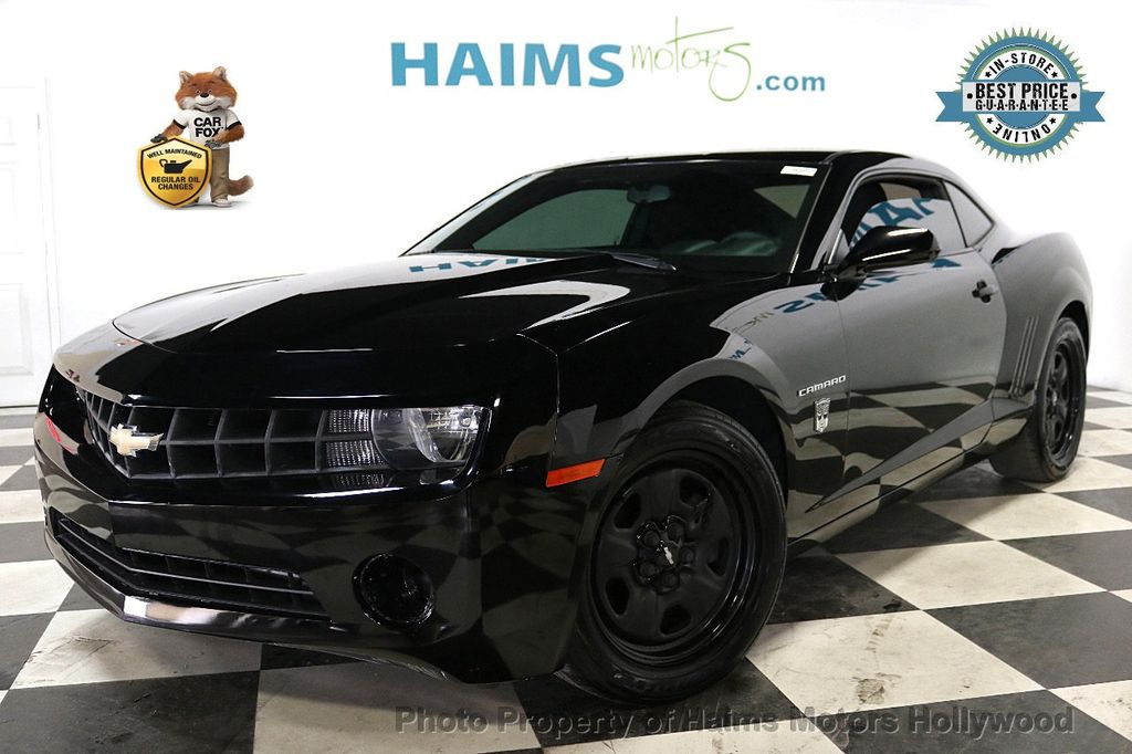 2012 Chevrolet Camaro 2dr Coupe 2LS - 18391066 - 0