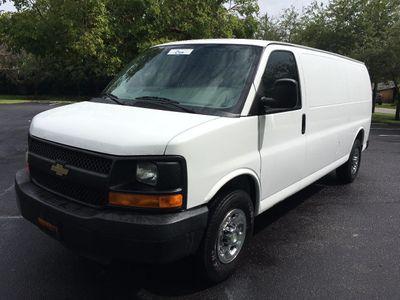 """2012 Chevrolet Express Cargo Van RWD 2500 155"""""""