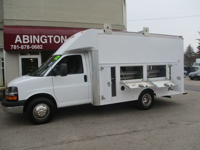 """2012 Chevrolet Express Commercial Cutaway RWD 3500 139"""" WB Work Van - Click to see full-size photo viewer"""