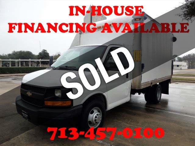 "2012 Chevrolet Express Commercial Cutaway RWD 3500 139"" WB Work Van"