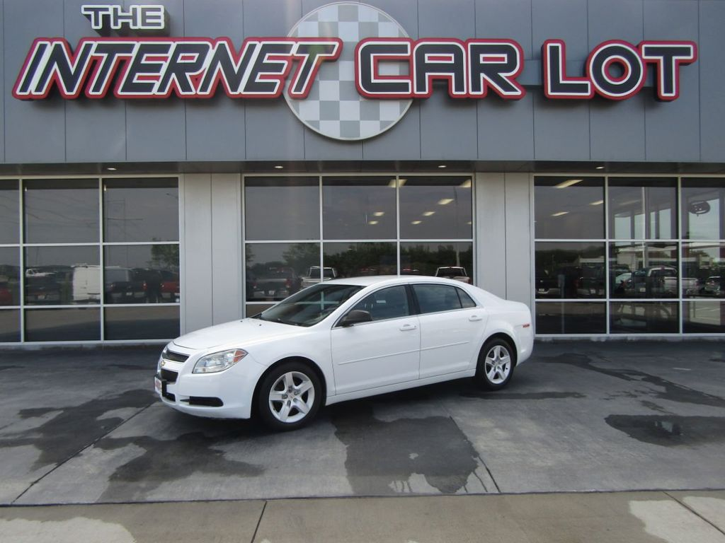 2012 used chevrolet malibu ls at the internet car lot. Black Bedroom Furniture Sets. Home Design Ideas