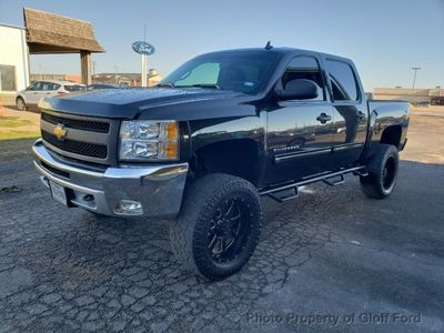 """2012 Chevrolet Silverado 1500 4WD Crew Cab 143.5"""" LT - Click to see full-size photo viewer"""