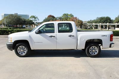 """2012 Chevrolet Silverado 1500 4WD Crew Cab 143.5"""" Work Truck - Click to see full-size photo viewer"""