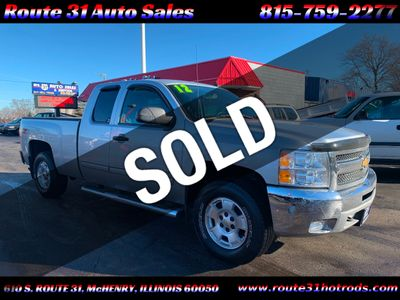 "2012 Chevrolet Silverado 1500 4WD Ext Cab 143.5"" LT - Click to see full-size photo viewer"