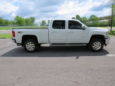 "2012 Chevrolet Silverado 2500HD 4WD Crew Cab 153.7"" LTZ - Click to see full-size photo viewer"