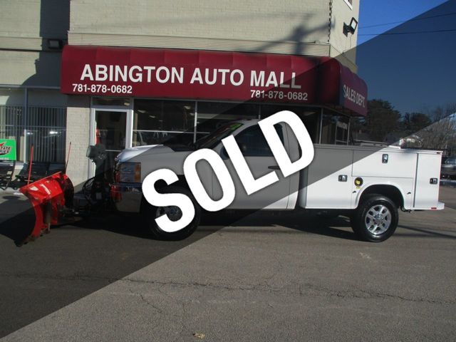 2012 Chevrolet Silverado 2500HD UTILITY BODY 4X4