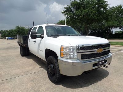 "2012 Chevrolet Silverado 3500HD 2012 Chevy Silverado 3500HD 4WD Crew Cab 167.7"" Truck, 1-Owner!! - Click to see full-size photo viewer"