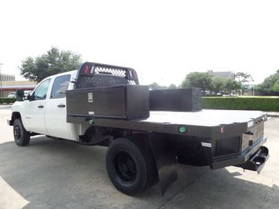 """2012 Chevrolet Silverado 3500HD 4WD Crew Cab 167.7"""" Work Truck - Click to see full-size photo viewer"""
