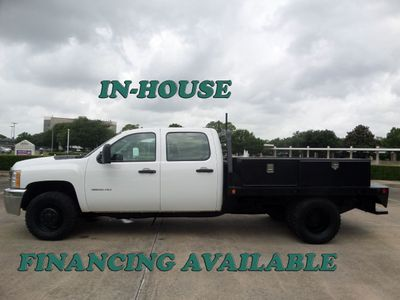 "2012 Chevrolet Silverado 3500HD 4WD Crew Cab 167.7"" Work Truck - Click to see full-size photo viewer"
