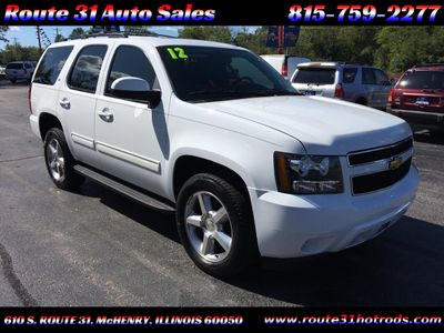 2012 Chevrolet Tahoe 4WD 4dr 1500 LT - Click to see full-size photo viewer