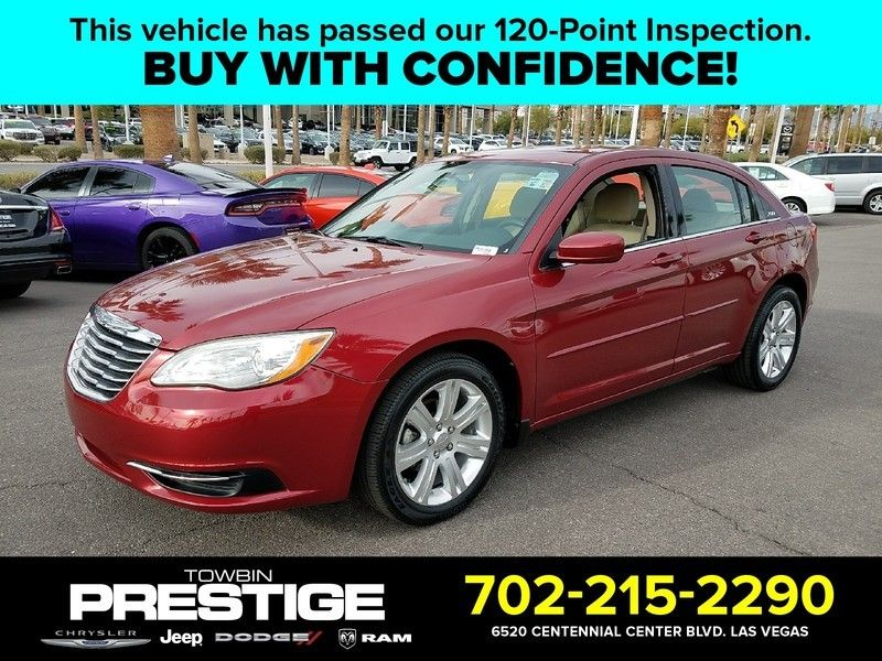 2012 Chrysler 200 4dr Sedan LX - 17053038 - 0