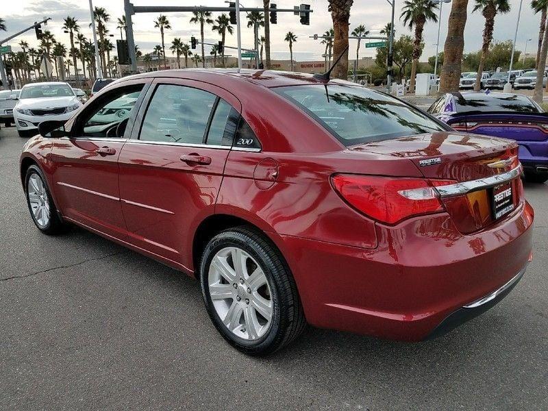 2012 used chrysler 200 4dr sedan lx at king of cars. Black Bedroom Furniture Sets. Home Design Ideas