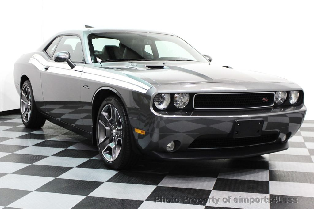 2012 Dodge Challenger >> 2012 Used Dodge Challenger Certified Challenger R T Hemi V8 Sunroof