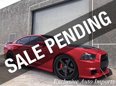 2012 Dodge Charger SUPERCHARGED SRT-8 6.4L HEMI V8 1-OWNER SHOWCAR HELLCAT Sedan