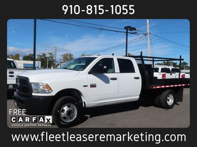 2012 Dodge Ram 3500 HD 4WD DRW Flatbed