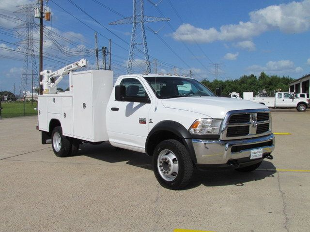 Dodge Dealership Houston >> 2012 Used Dodge Ram 4500 Mechanics Service Truck 4x4 at ...