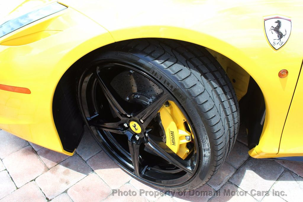 2012 Ferrari 458 Italia ONLY 6k MILES ON THIS BEAUTIFULLY OPTIONED BUMBLE-BEE 458 COUPE - 16638912 - 20