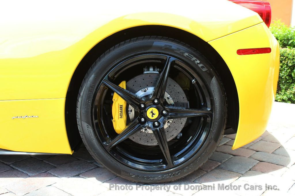 2012 Ferrari 458 Italia ONLY 6k MILES ON THIS BEAUTIFULLY OPTIONED BUMBLE-BEE 458 COUPE - 16638912 - 21