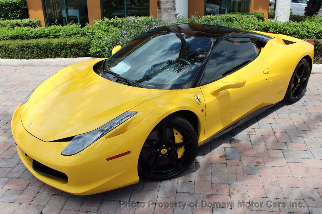 2012 Ferrari 458 Italia ONLY 6k MILES ON THIS BEAUTIFULLY OPTIONED BUMBLE-BEE 458 COUPE - 16638912 - 23