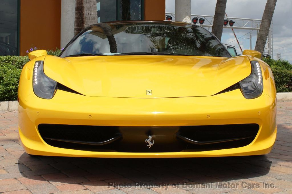 2012 Ferrari 458 Italia ONLY 6k MILES ON THIS BEAUTIFULLY OPTIONED BUMBLE-BEE 458 COUPE - 16638912 - 27