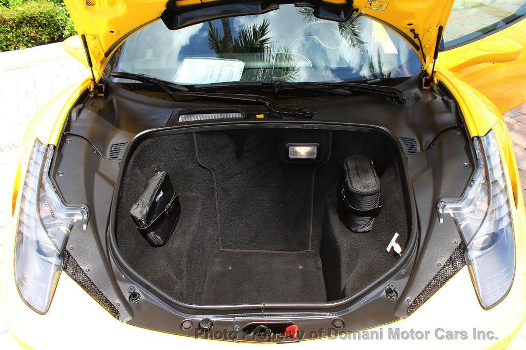 2012 Ferrari 458 Italia ONLY 6k MILES ON THIS BEAUTIFULLY OPTIONED BUMBLE-BEE 458 COUPE - 16638912 - 29
