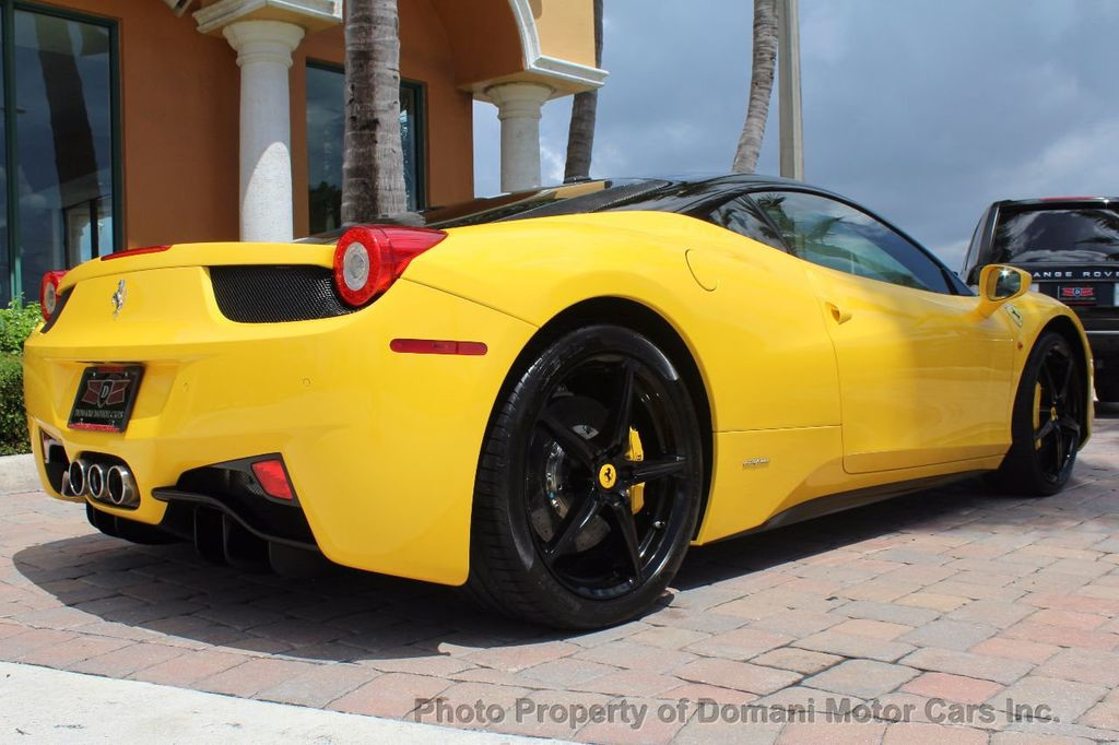2012 Ferrari 458 Italia ONLY 8k MILES ON THIS BEAUTIFULLY OPTIONED BUMBLE-BEE 458 COUPE - 16638912 - 12