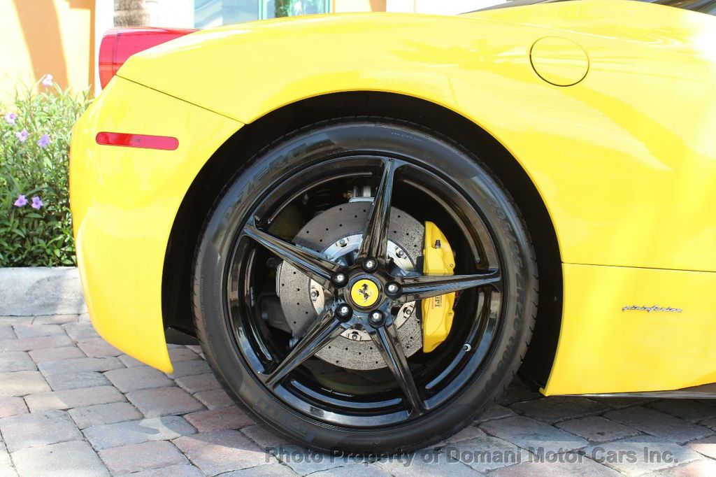 2012 Ferrari 458 Italia ONLY 8k MILES ON THIS BEAUTIFULLY OPTIONED BUMBLE-BEE 458 COUPE - 16638912 - 22