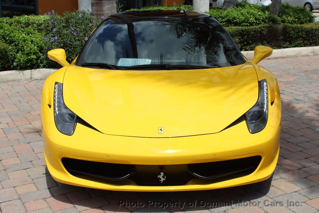 2012 Ferrari 458 Italia ONLY 8k MILES ON THIS BEAUTIFULLY OPTIONED BUMBLE-BEE 458 COUPE - 16638912 - 24
