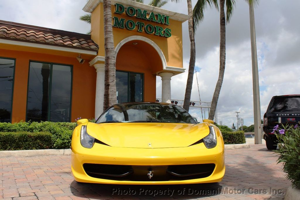 2012 Ferrari 458 Italia ONLY 8k MILES ON THIS BEAUTIFULLY OPTIONED BUMBLE-BEE 458 COUPE - 16638912 - 28