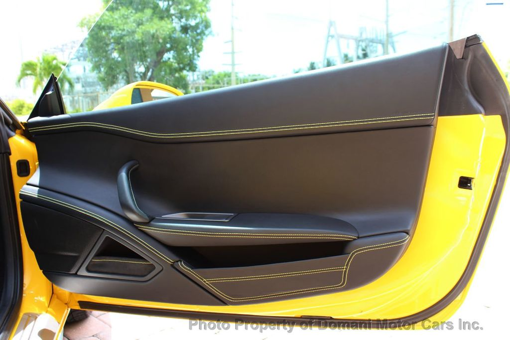 2012 Ferrari 458 Italia ONLY 8k MILES ON THIS BEAUTIFULLY OPTIONED BUMBLE-BEE 458 COUPE - 16638912 - 36
