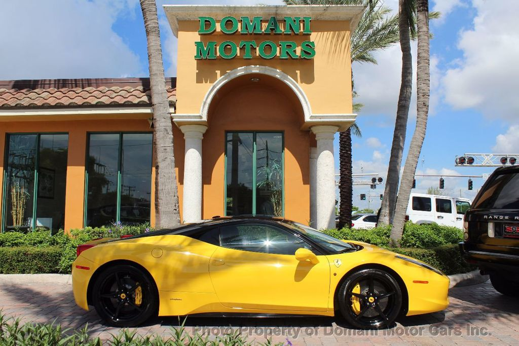 2012 Ferrari 458 Italia ONLY 8k MILES ON THIS BEAUTIFULLY OPTIONED BUMBLE-BEE 458 COUPE - 16638912 - 5