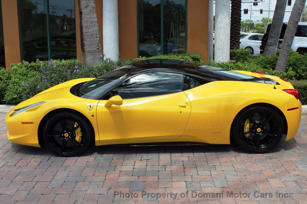 2012 Ferrari 458 Italia ONLY 8k MILES ON THIS BEAUTIFULLY OPTIONED BUMBLE-BEE 458 COUPE - 16638912 - 7