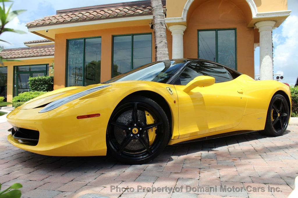 2012 Ferrari 458 Italia ONLY 8k MILES ON THIS BEAUTIFULLY OPTIONED BUMBLE-BEE 458 COUPE - 16638912 - 8