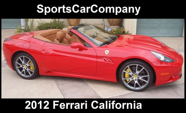 2012 Ferrari California 2dr Convertible - 15446477 - 1