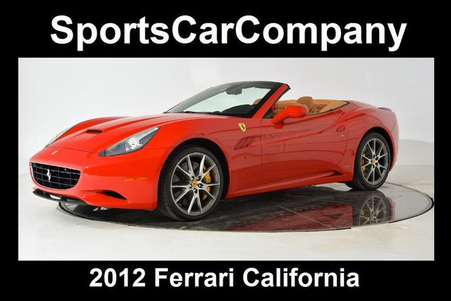 2012 Ferrari California 2dr Convertible - 15836608 - 0