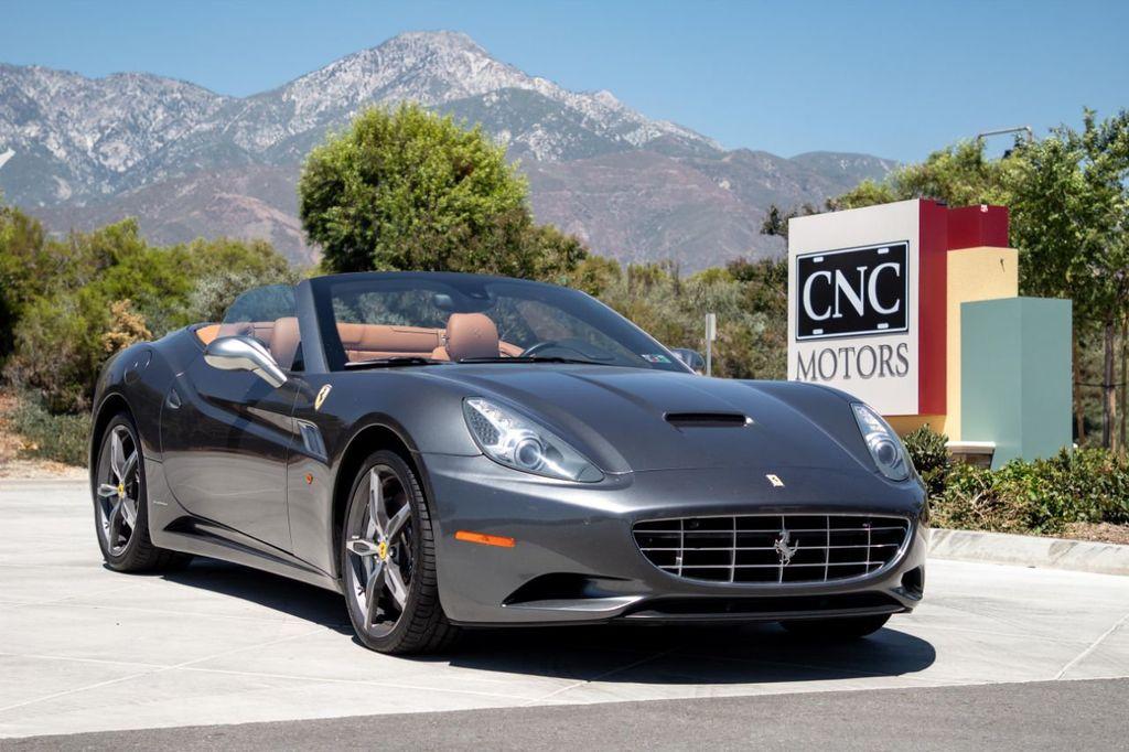 2012 Used Ferrari California 2dr Convertible At Cnc Motors Inc Serving Upland Ca Iid 19235203